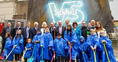 Official groundbreaking ceremony marks the first step in building a new SickKids