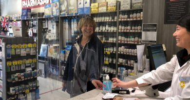 Stouffville Pharmasave provides free sanitizer to those in need